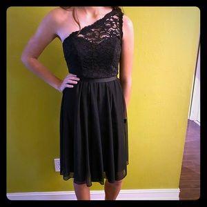 David's Bridal LBD Lace Little Black Dress 2 💃